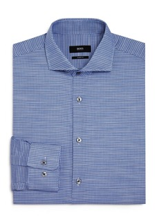 Hugo Boss BOSS Mark Houndstooth Regular Fit Dress Shirt