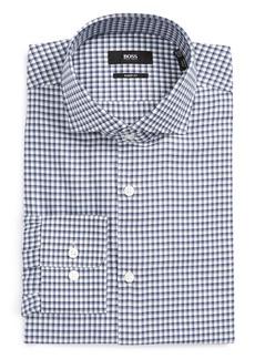 Hugo Boss BOSS Mark Sharp Fit Check Dress Shirt
