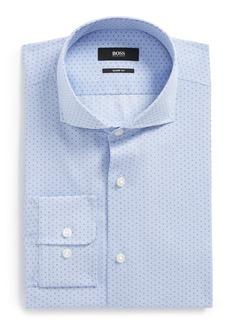 Hugo Boss BOSS Mark Sharp Fit Dot Dress Shirt