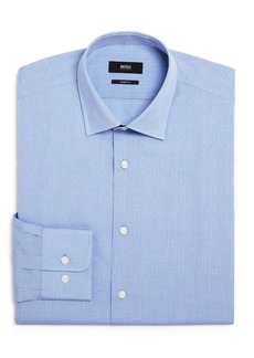 Hugo Boss BOSS Marley Micro-Dobby Regular Fit Dress Shirt