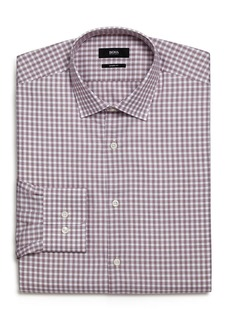 Hugo Boss BOSS Marley Open Check Regular Fit Dress Shirt