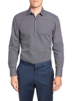 Hugo Boss BOSS Marley Sharp Fit Geometric Dress Shirt