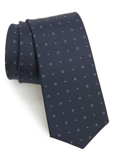 Hugo Boss BOSS Medallion Circle Silk Tie