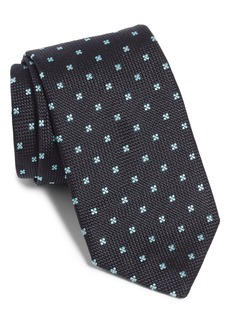 Hugo Boss BOSS Medallion Flower Silk Tie
