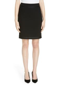 Hugo Boss BOSS Memio Textured Jersey Suit Skirt