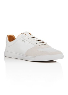 Hugo Boss BOSS Men's Cosmo Leather & Suede Low-Top Sneakers