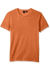Hugo Boss BOSS  Men's Garment Dyed Cotton Slim Flit Crew Neck Tee Shirt  XL