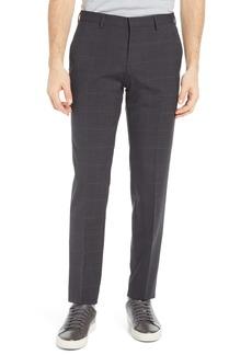 Hugo Boss BOSS Men's Genius5 Flat Front Plaid Dress Pants