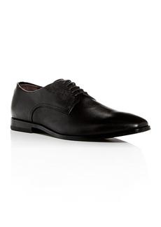 Hugo Boss BOSS Men's Highline Embossed Leather Plain-Toe Oxfords