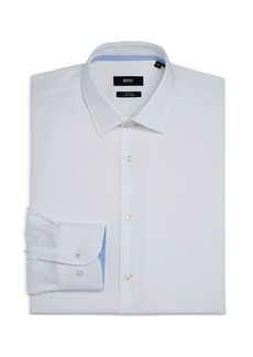 Hugo Boss BOSS Men's Jesse Cotton Solid Slim Fit Dress Shirt