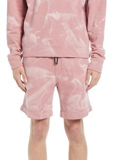 Hugo Boss BOSS Men's Tie-Dye Cotton Blend Shorts