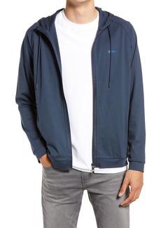 Hugo Boss BOSS Men's Zip-Up Hooded Golf Jacket