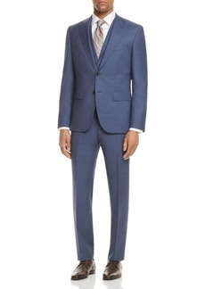 Hugo Boss BOSS Micro Birdseye Regular Fit 3-Piece Suit