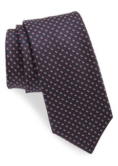 Hugo Boss BOSS Micro Medallion Silk Tie