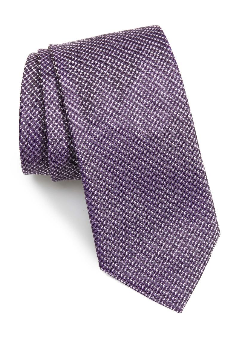 Hugo Boss BOSS Micro Print Silk Tie
