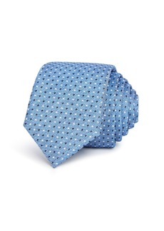 Hugo Boss BOSS Multi-Dot Silk Skinny Tie