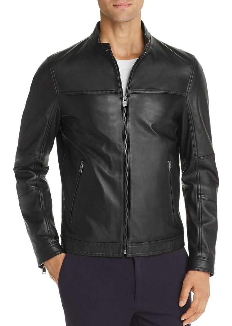 Hugo Boss BOSS Nestem Leather Jacket