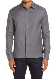 Hugo Boss BOSS Niceto Relaxed Fit Twill Snap-Up Shirt