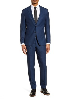 Hugo Boss BOSS Novan/Ben Trim Fit Solid Wool Suit