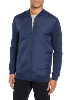 Hugo Boss BOSS Nylon Front Fleece Jacket