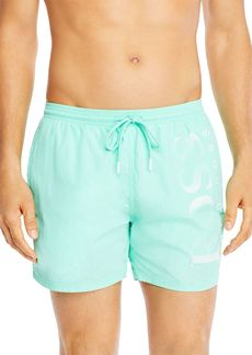 Hugo Boss BOSS Octopus Logo Swim Trunks