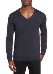 Hugo Boss BOSS Orange Kerpen Fineliner V-Neck Sweater