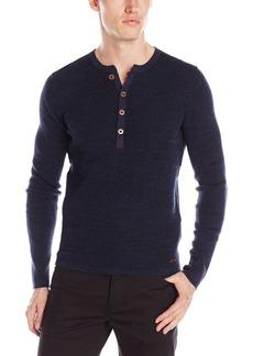 Hugo Boss BOSS Orange Men's Addino Cotton Henley Shirt