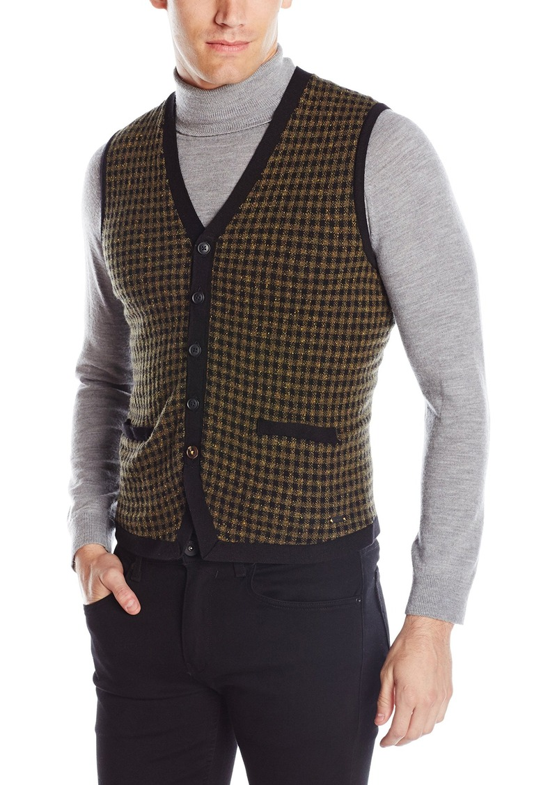 Hugo Boss BOSS Orange Men's Aweet Light Tweed Blend Sweater Vest ...