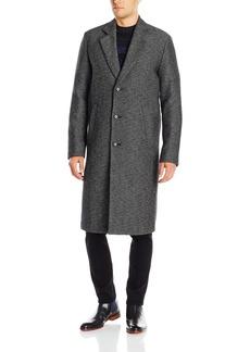 Hugo Boss BOSS Orange Men's Bear Double Face Twill Wool Blend Long Top Coat  R
