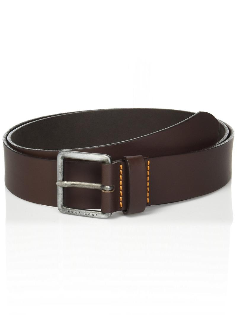 Hugo Boss BOSS Orange Men's Jeeko Italian Leather Belt  US 42-EU 110
