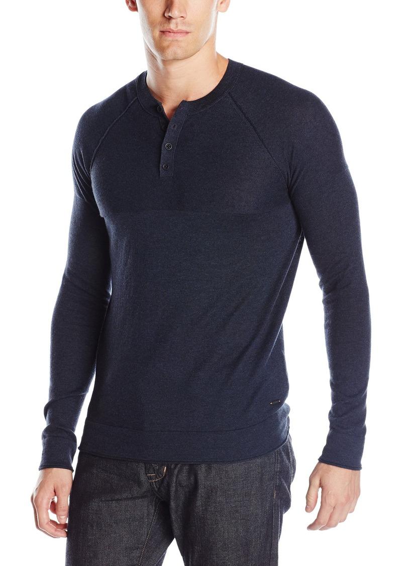 197aed958 SALE! Hugo Boss BOSS Orange Men's Kelaz Cotton Yak Henley Shirt XXX ...