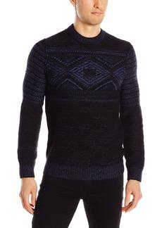 Hugo Boss BOSS Orange Men's Kordejan Cosy Comfort Tweed Yarn Sweater
