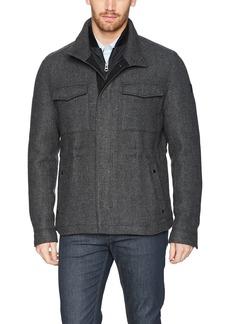 323fde44e Hugo Boss BOSS Orange Men's Ofalcon Modern Wool Field Jacket R