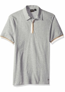 d5585fd3 Hugo Boss BOSS Orange Men's Paxto Relaxed Fit Polo with Tape Play Slub Yarn  XL