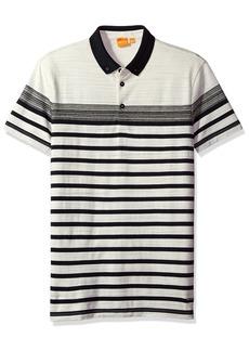 Hugo Boss BOSS Orange Men's Promo Graphical Stripe Polo Shirt
