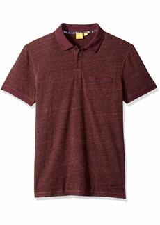 Hugo Boss BOSS Orange Men's Push Short Sleeved Polo Shirt Open red