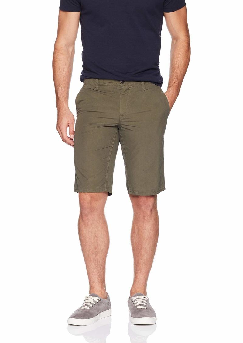 Hugo Boss BOSS Orange Men's Slim Fit and Regular Rise Schino Shorts