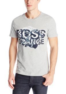 dffb7156 Hugo Boss BOSS Tesar Geometric-Striped Tee | Casual Shirts