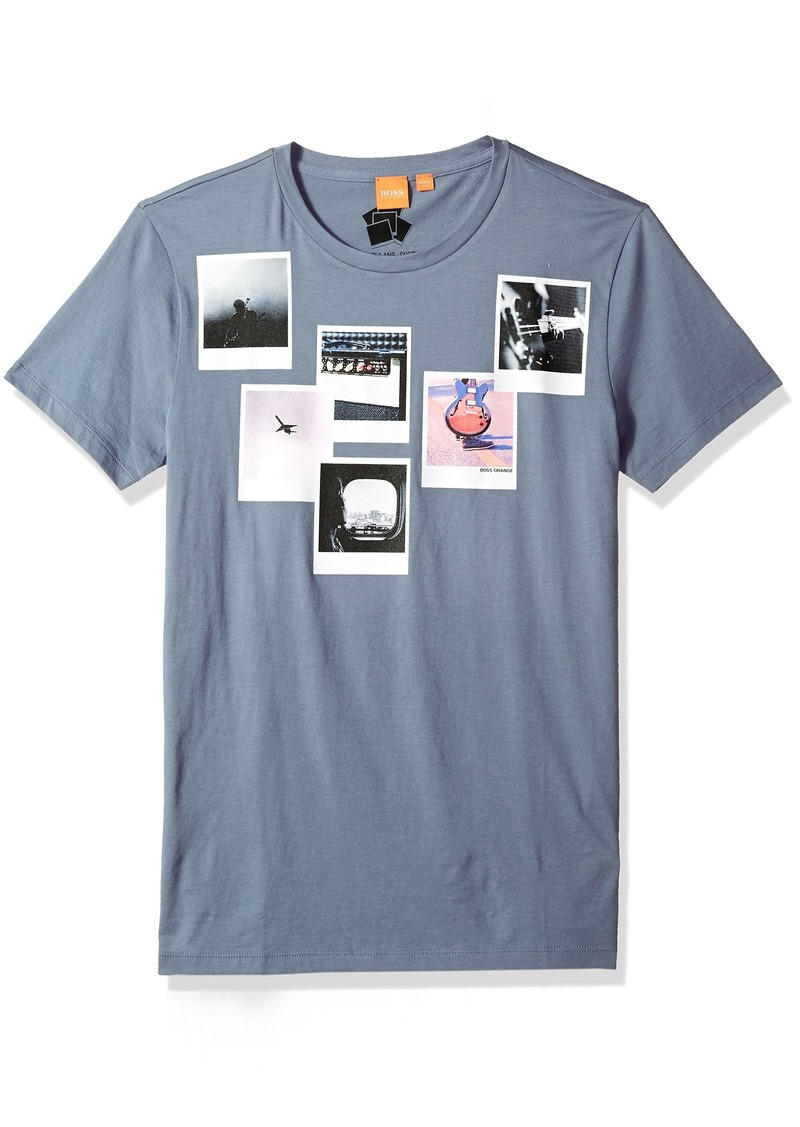 f33bdfcf1 On Sale today! Hugo Boss Boss Orange Men's Taxable 1 Printed T-Shirt