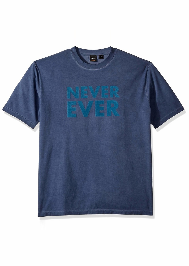 Hugo Boss BOSS Orange Men's Teemotion 4 Never Ever Tee