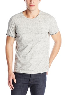 Hugo Boss BOSS Orange Men's Testarosso Grey Crew Neck Short Sleeve Tee Shirt Light/Pastel