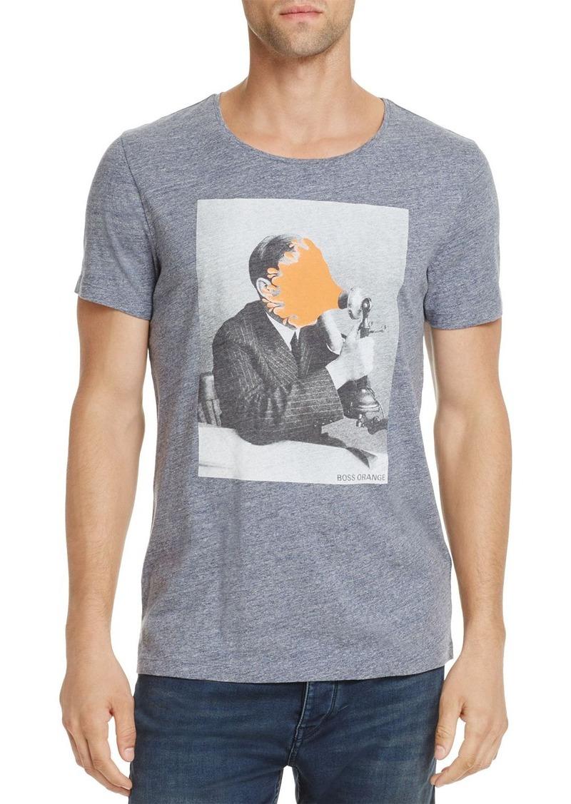 fea906c88 Hugo Boss BOSS Orange Touching Crewneck Short Sleeve Graphic Tee ...