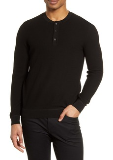 Hugo Boss BOSS Oris Thermal Cotton Henley