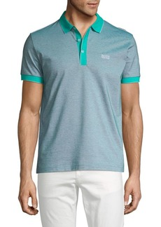 Hugo Boss BOSS Paddy Contrast-Tip Polo