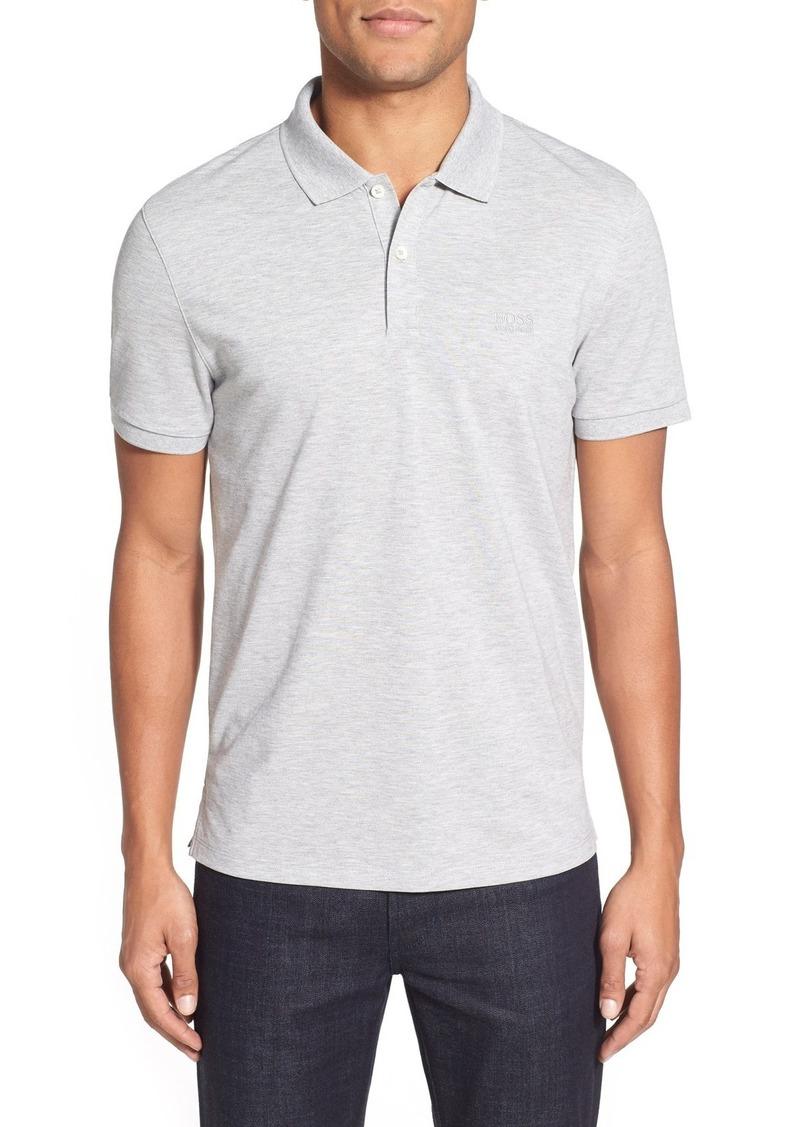 1b7927b4bd51 Hugo Boss BOSS 'Pallas' Regular Fit Logo Embroidered Polo Shirt ...
