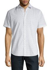 Hugo Boss BOSS Palm Print Shirt