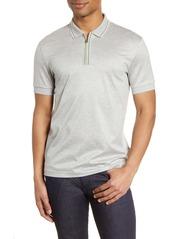 Hugo Boss BOSS Paras Heathered Cotton Polo Shirt