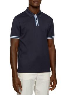 Hugo Boss BOSS Parlay Piqu� Regular Fit Polo Shirt