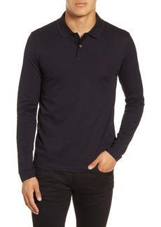 Hugo Boss BOSS Paschal Slim Fit Long Sleeve Polo