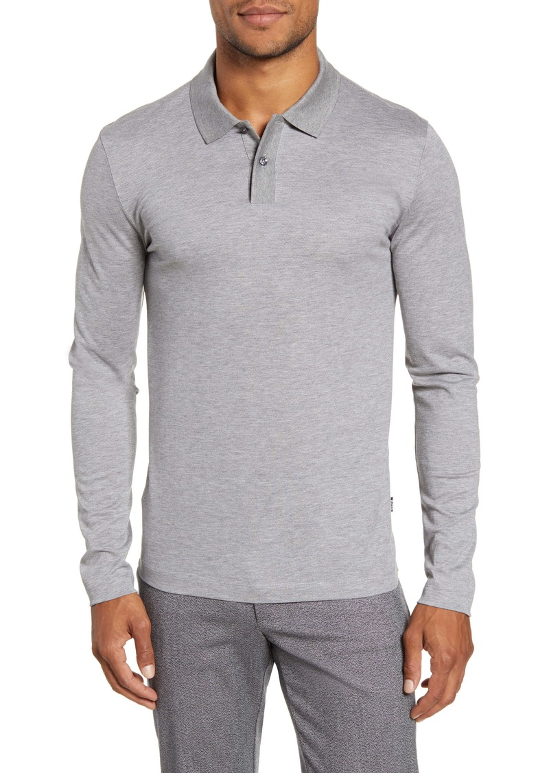 Hugo Boss BOSS Paschal Long Sleeve Polo